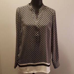 Rose & Olive loose fitting Blouse size small